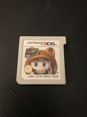 Super Mario 3D Land - Nintendo 3DS - Game Only - No Case - Fully Working