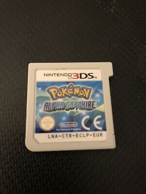 Pokemon Alpha Sapphire - Nintendo 3DS - Game Only - No Case - Fully Working