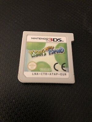 Yoshi's New Island - Nintendo 3DS - Game Only - No Case - Fully Working