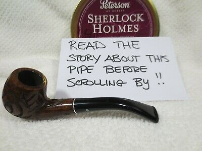 Dr, Grabow Duke 6mm (Made by Ex-German POW in Italy) Estate Tobacco Pipe