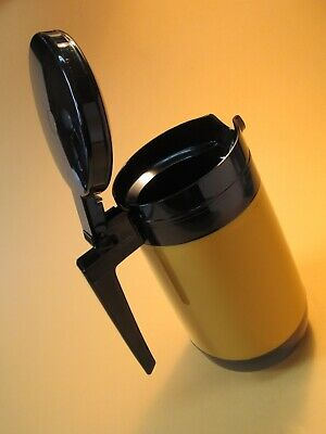 Vintage Insulated Coffee Carafe RUBBERMAID Restaurant Ware jug HARVEST GOLD