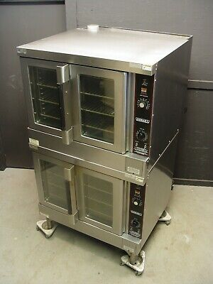 Hobart Convection Oven HGC5-10 Series Full Size Double Stack Natural Gas
