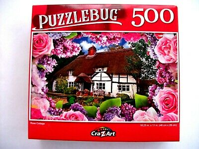 300 Pieces Jigsaw Puzzle Lovely Spring Cottage