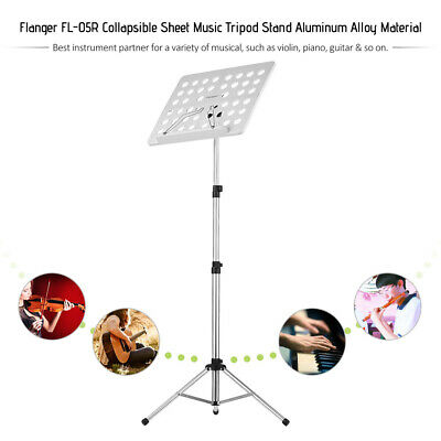 Heavy Duty Foldable Orchestral Sheet Music Stand Holder Adjustable Tripod L4D5