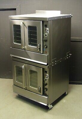 Montague 2-115A Series Bakery Depth Double Stack Gas Convection Oven 😍