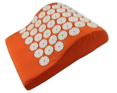 Oreiller Acupression Acupressure Coussin Massage Lit de Clous Acupuncture Orange