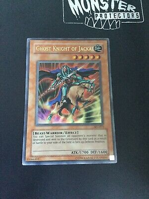 Unlimited NM Yugioh AST-071 1X Ghost Knight of Jackal Ultra Rare