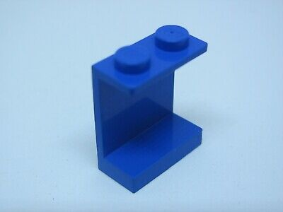 6361 #4215a LEGO 2x Lot BLUE Panel 1 x 4 x 3 with Solid Studs 4549 6653 6542