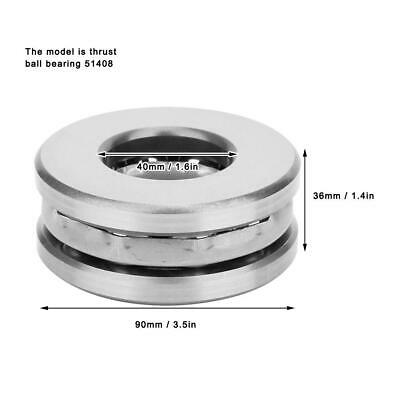 Axial Thrust Ball Bearing High Accuracy Plane Pressure Industrial Parts Hot