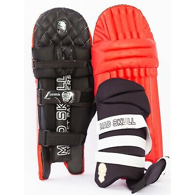 Black Deal Luxury Pro Edition Cricket Batting Pads Gloves and Thigh Guard Combo