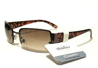 Foster Grant Best Value Brown Rimless Sunglasses New GD