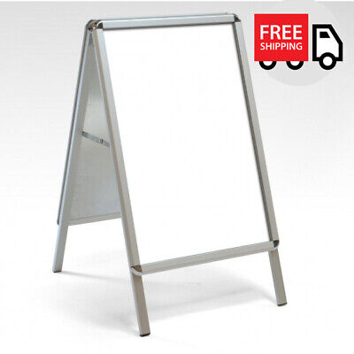 A1 A Board Pavement Sign, 32mm Snap Frame Display Stand. GREAT PRICE!