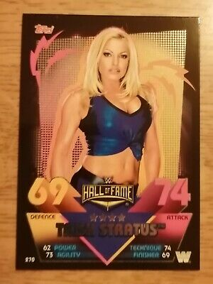 WWE Topps Slam Attax Reloaded - Trish Stratus Hall of Fame Card - No 270