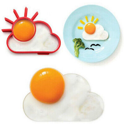 Breakfast Omelette Mold Silicone Egg Shaper Cooking Tool Kitchen Accesso_ws