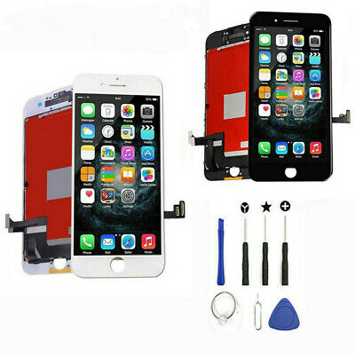 New For iPhone 8 Plus 8 Screen Replacement LCD Display Touch Digitizer+Tools Kit
