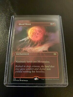 Blood Moon NM//Never Played MTG Double Masters