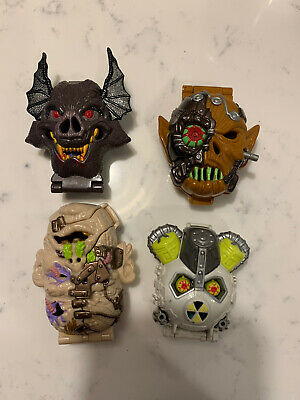 Mighty Max Horror Heads Robot Invader 100/% Complete Set Playset Bluebird Toys