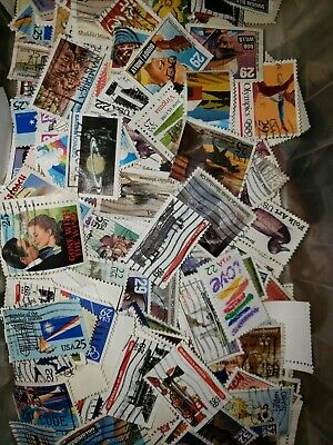 US Used/Canceled Postage Stamps  Set of 50 Different 22c - 29c Large Stamps