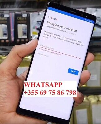 Android 8, 9 & 10 Google account FRP bypass removal Samsung galaxy Devices
