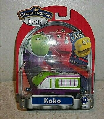 Chuggington Die Cast Launch and Go Roundhouse with Koko Engine New in Box