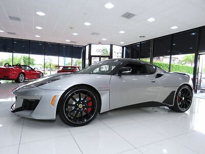 "2020 Lotus Evora GT 2 Plus 2 6 Speed Manual 2020 LOTUS EVORA GT ""EVORA SILVER'' GREAT LEASE OPTIONS!  LOTUS OF POMPANO BEACH"