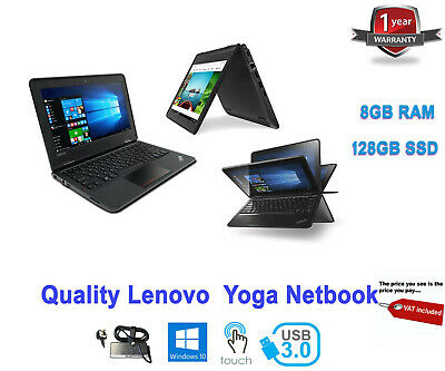 Premium Lenovo Thinkpad Yoga 11e 2-in-1 11.6 IPS Touchscreen Core m3-7Y30 8GB