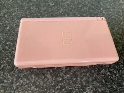 Nintendo DS Lite Pink Handheld System with Super Monkey Ball game