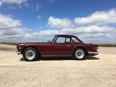 Triumph TR6 150hp factory o/d owned since 1993 exceptional condition and history