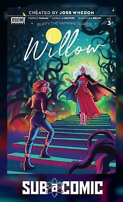 Buffy the Vampire Slayer Willow #3A Bartel Variant NM 2020 Stock Image