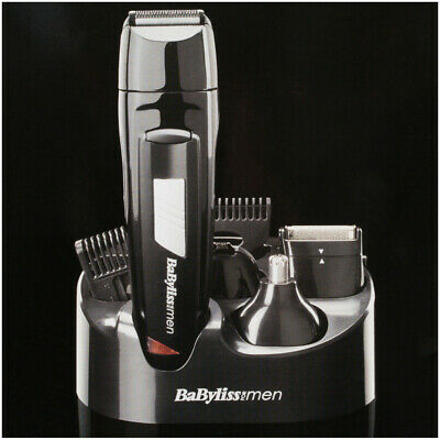 Trimmer Clipper Grooming Kit, Face & Body, Rechargeable BaByliss 8 in 1