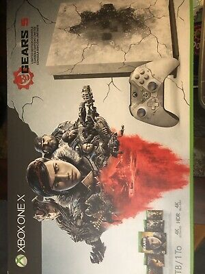 Microsoft Xbox One X 1TB Gears 5 Limited Edition Console Bundle With 3 Games