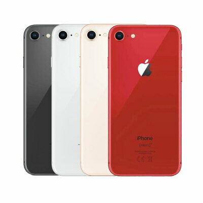 Apple iPhone 8 - 64GB Unlocked Smartphone Silver Grey Gold Colours