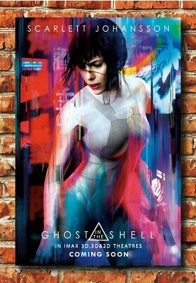 Ghost In The Shell 24x36 Poster Scarlett Johansson Movie Sexy Ai Science Fiction 17 99 Picclick
