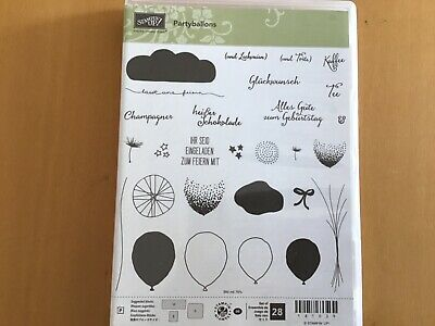Stampin up, Partyballons