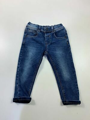 Boys Next Kids Age 1.5-2 Years Blue Casual Straight Leg Denim Jeans Trousers