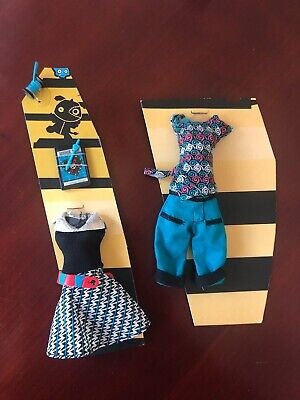 New Monster High Lagoona Frankie Home Ick Outfit Clothing