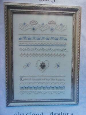Queen by Charland Designs chart includes floss