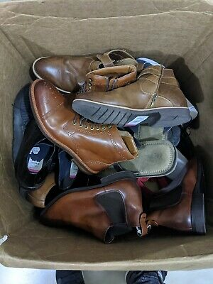 LOT 16 Pairs Men's Shoes Sneakers Liquidation Returns Mixed Sizes