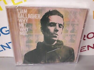Liam Gallagher Why Me? Why Not. 2019 Music CD - New & Sealed but Case Cracked