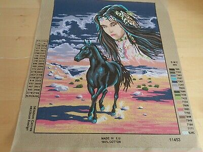Collection d'Art Tapestry Canvas  Horse 11453