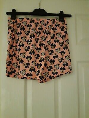 Girls clothing size 12-13 Primark Pink Minnie Mouse Shorts
