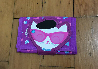 Smiggle Cool Cat Purse Wallet