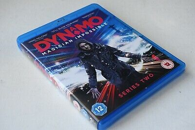 Dynamo - Magician Impossible Series Two [Blu Ray 2011] Vgc