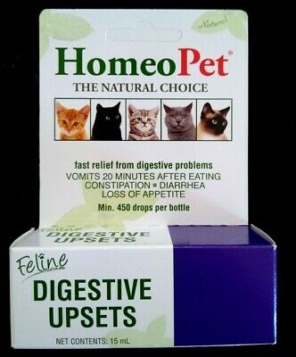 Home Pet Feline Digestive Upsets For Cats With Upset Stomachs & Digestive Issues