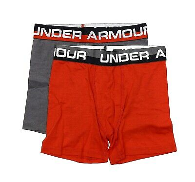 Under Armour 2 Pack Boxer Briefs Youth Size M 24339