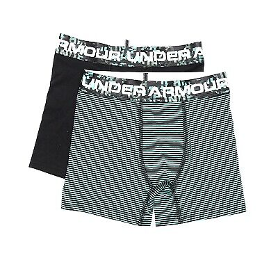 Under Armour 2 Pack Boxer Briefs Youth Size S 24267