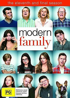 Modern Family - Season 11  (DVD) UK Compatible - sealed