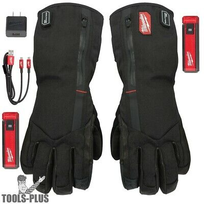 Milwaukee 561-21XL USB Rechargeable Heated Work Gloves - X-Large New