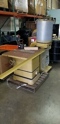 Powermatic 2000 indoor table saw & PM1300TX Dust Collector