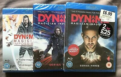 dynamo magician impossible series 1 2 3 blu ray new sealed